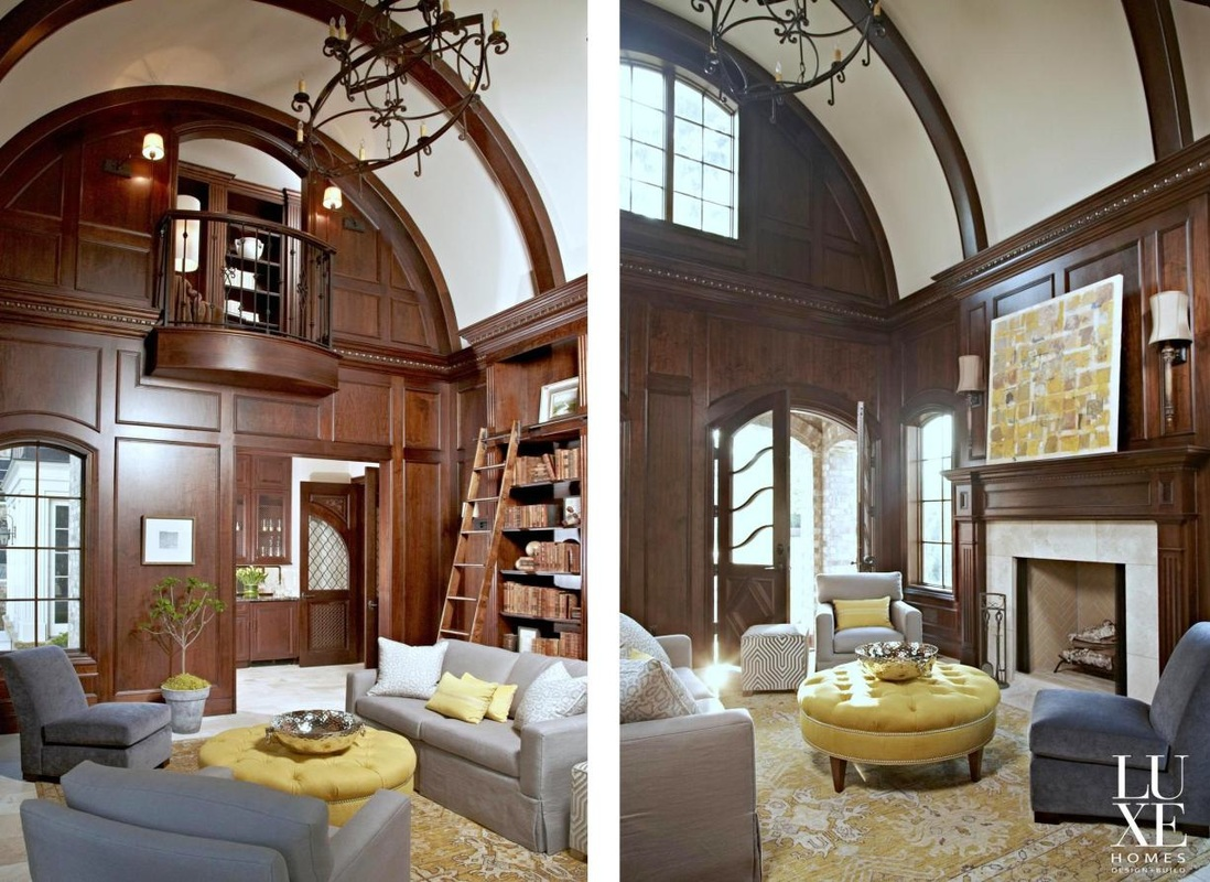 Library For English Manor Residence