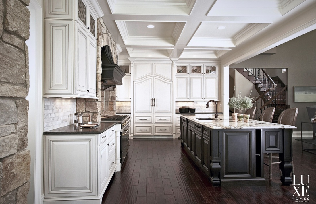 high-end gourmet kitchen design - luxe homes design build